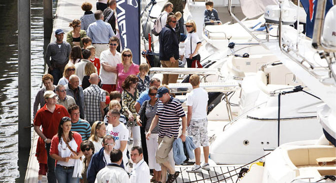 Jersey Boat Show 2014