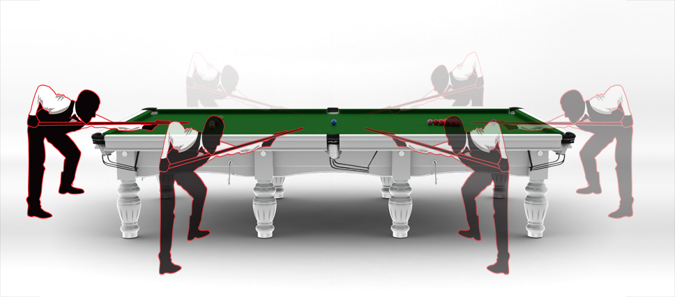 How Much Space Is Needed For A Riley Snooker Table - How much space do you need for a pool table