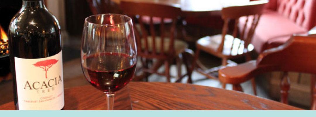 The  Plough Pub Wine List